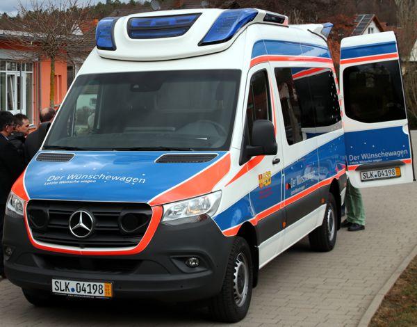 ASB Wünschewagen, Franken