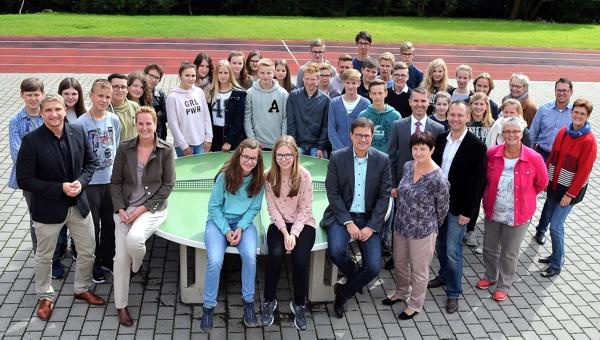 Gymnasium Burgkunstadt: Schüler, Lehrer und Verantwortliche des Projekts