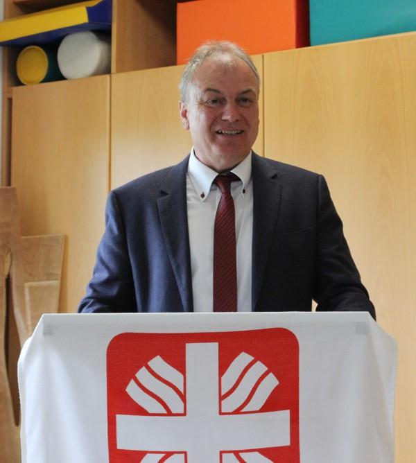 Josef Fugmann von der Firma Göhl Hoch- und Tiefbau GmbH