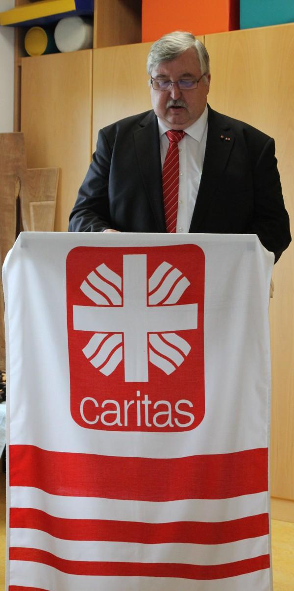 Diözesan-Caritas Direktor Gerhard Öhlein