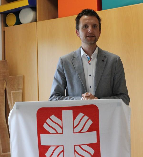 Bürgermeister der Stadt Lichtenfels Andreas Hügerich