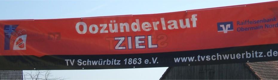 Oozünderlauf, TV Schwürbitz, Raiffeisenbank Obermain Nord