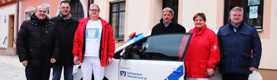 Übergabe VRmobil (VWup!) - Caritas Sozialstation Burgkunstadt