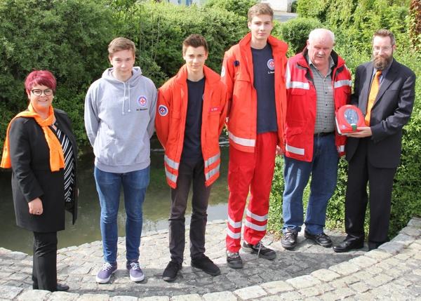 Wasserwacht Altenkunstadt, Defibrillator