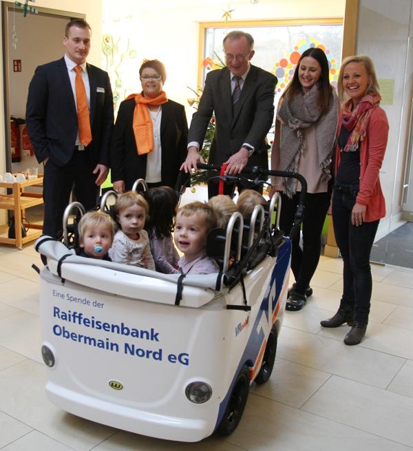 Zentrum für Kinder und Familie, Mainleus, Raiffeisenbank Obermain Nord eG