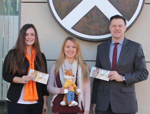 Preisübergabe, Namika, Schwäbisch Hall, Raiffeisenbank Obermain Nord, Paula Klimke