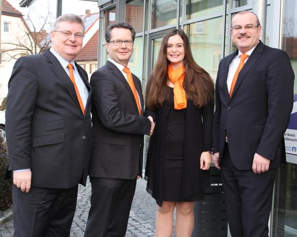 Bankbetriebswirtin Madeleine Hofmann, Raiffeisenbank Obermain Nord eG