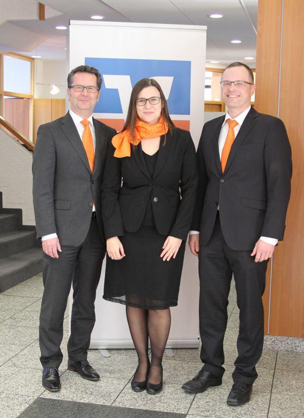 Erfolgreiche Weiterbildungen 2016, Raiffeisenbank Obermain Nord eG