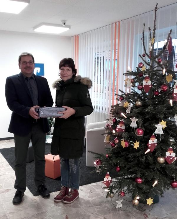 Adventskalender-Gewinnspiel, Raiffeisenbank Obermain Nord eG