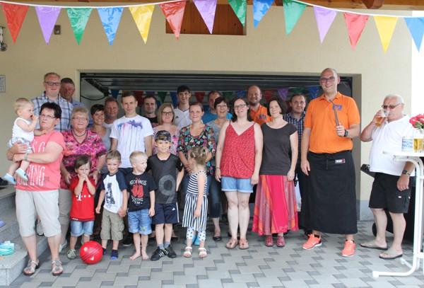 Gruppenfoto der Gäste