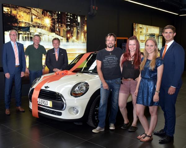 Gewinnsparen 2018, MINI ONE Cabrio
