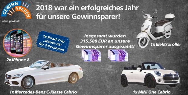 Gewinnsparen, 2018, Raiffeisenbank Obermain Nord