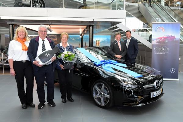 Autoübergabe, Mercedes Benz, SLC, Günther Bär