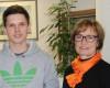 Martin Stöcker mit Kundenberaterin Regina Müller