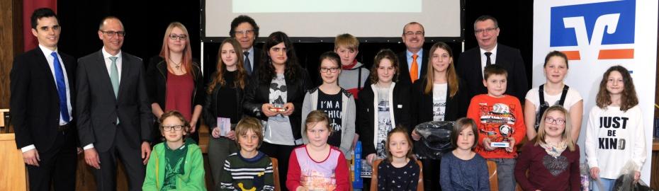 Preisverleihung Landkreissieger, Internationaler Jugendwettbewerb