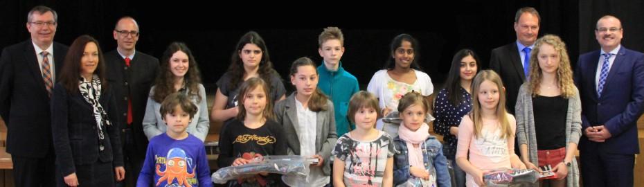 Foto von den Gewinnern