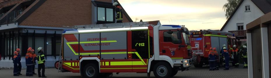Großübung der Feuerwehrjugend aus den Gemeinden Altenkunstadt, Burgkunstadt und Weismain.