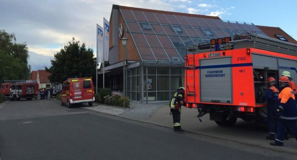 Großübung der Feuerwehrjugend aus den Gemeinden Altenkunstadt, Burgkunstadt und Weismain