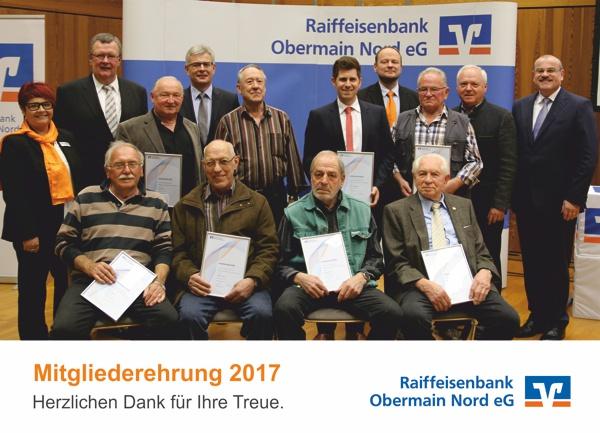 Mitgliederehrung in Hochstadt