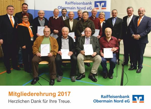 Mitgliederehrung in Altenkunstadt