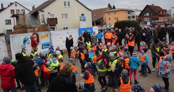 Grundsteinlegung & Richtfest (28.03.2018)