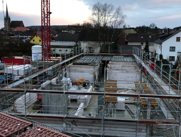 Errichtung Erdgeschoss (KW 3 -2018)