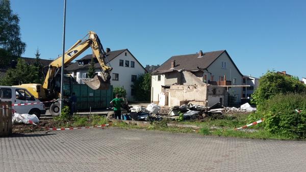 Vorbereitung des Baugrundstücks (KW 20/2017)