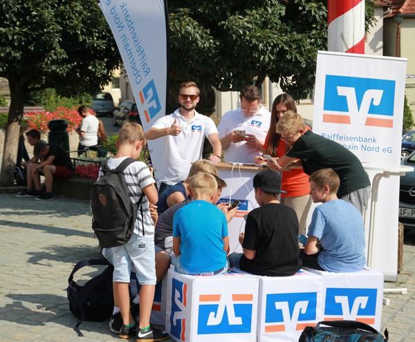Aktionsstand in Burgkunstadt