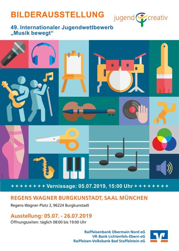 Jugend creativ, Vernissage, Saal München, Regens Wagner