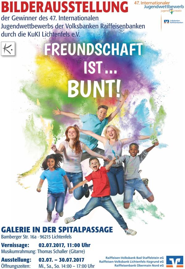 47. Internationaler Jugendwettbewerbs, jugend creativ, Vernissage in Lichtenfels