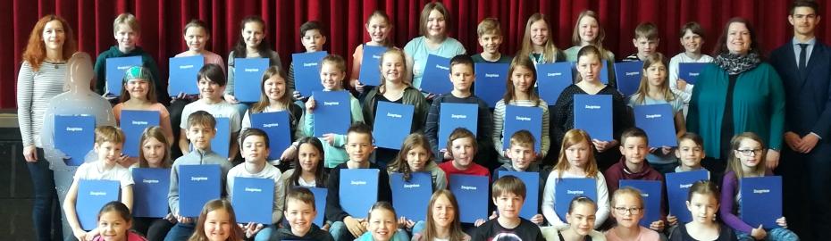 Grundschule, Altenkunstadt, Zeugnis