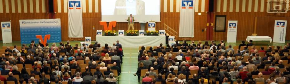 Veranstaltungen, Raiffeisenbank Obermain