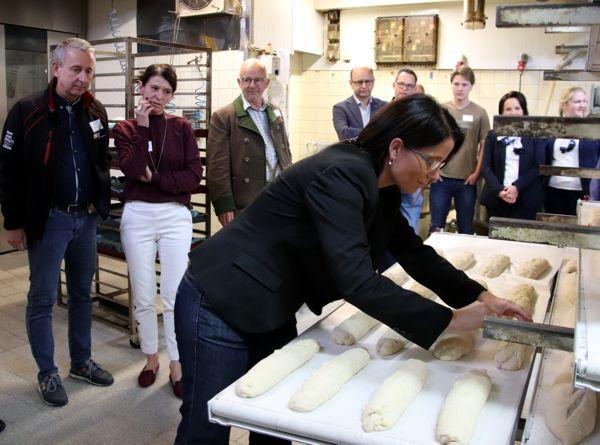 Bäckerei Schäfer, Blick hinter die Kulissen