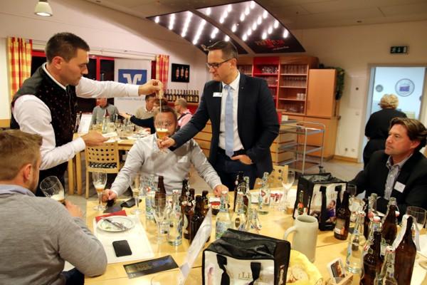 Bier-Tasting, Brauhaus Leikeim, Altenkunstadt